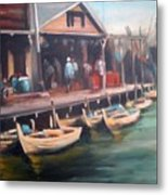 Fisher Village Metal Print