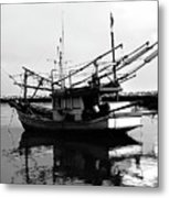 Fisherman's Boat Metal Print