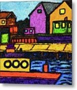 Fishermans Dock Metal Print