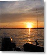 Fishermans Sunset Metal Print