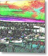 Fishermans Terminal 2 Metal Print