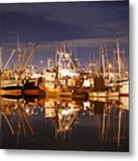 Fishermans Terminal Metal Print