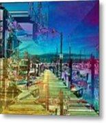 Fishermans Terminal Pier 2 Metal Print