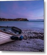 Fishing After Hours Metal Print