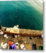 Fishing Beirut  Metal Print