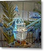 Fishing Boat Hdr 1 Metal Print