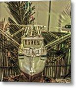 Fishing Boat Hdr 2 Metal Print