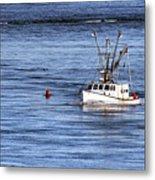 Fishing Boat Return Metal Print