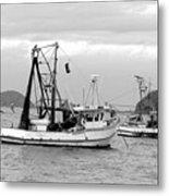 Fishing Boats At Pearl Beach 1.2 Metal Print
