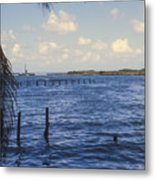 Fishing Cove Metal Print