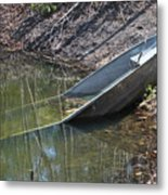 Fishing Fail Metal Print