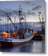 Fishing Fleet Metal Print by Randy Hall