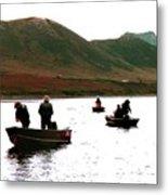 Fishing For Salmon - Karluck River - Kodiak Island Alaska Metal Print