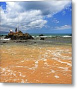 Fishing In Maui Metal Print