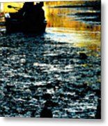Fishing In The Pond Metal Print