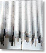 Fishing Poles Metal Print