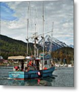 Fishing Vessel Chinak Metal Print