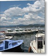 Fishingboats Metal Print