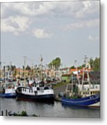 Fishingport Buesum Metal Print