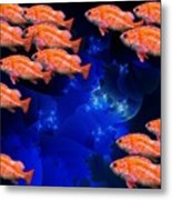 Fishy Metal Print