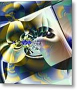 Fitted Shapes Metal Print