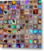 Five Hundred Series Metal Print by Boy Sees Hearts