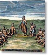 Five Nations: Meeting, C1570 Metal Print by Granger