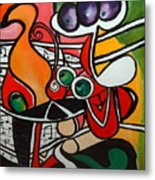 Five O' Clock With Picasso Metal Print