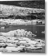 Fjallsarlon Glacier Lagoon Iceland 2348 Metal Print
