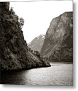 Fjord Beauty Metal Print