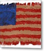 Flag 2 Metal Print