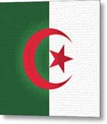 Flag Of Algeria Wall. Metal Print