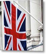 Flag Of Great Britain  Metal Print