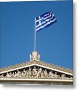 Flag Of Greece  Metal Print