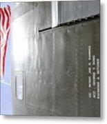 Flag Wwii Aircraft Metal Print