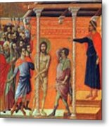 Flagellation Of Christ 1311 Metal Print
