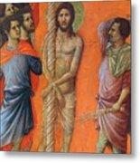 Flagellation Of Christ Fragment 1311 Metal Print