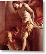 Flagellation Of Christ Metal Print by Pietro Bardellini