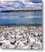 Flaggy Shore Metal Print