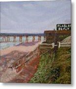 Flagler Beach Pier 1 Metal Print