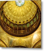 Flagler College Rotunda II Metal Print