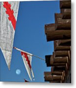 Flags At The Palace Of Governors Metal Print