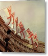 Flags Of London Metal Print