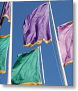 Flags Metal Print
