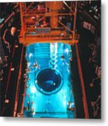 Flamanville Nuclear Power Plant Metal Print