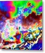 Flamboyant Cloudscape Metal Print