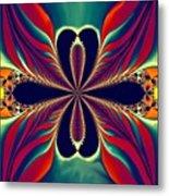 Flame Blossom Metal Print