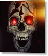 Flame Eyes Metal Print