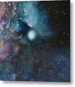 Flame Nebula Ngc 2024 - Triptyc Right Panel Metal Print