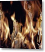 Flame Nymphs Metal Print